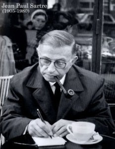 Jean-Paul-Sartre-kolaj