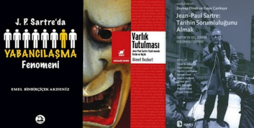 Jean-Paul-Sartre-uzerine-kitaplar-kolaj