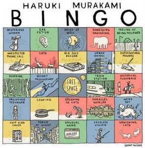 Haruki-Murakami-Bingo