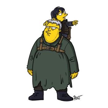 Game-Of-Thrones-Hodor-and-Bran-Stark-simpsonlar