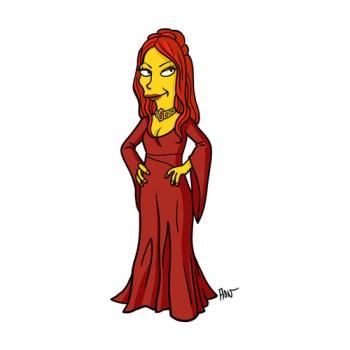 game-of-thrones-Melisandre -simpson