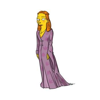 game-of-thrones-Sansa-Stark-simpson