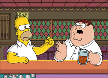 the_simpsons_homer_simpson_vs_family_guy_peter_griffin