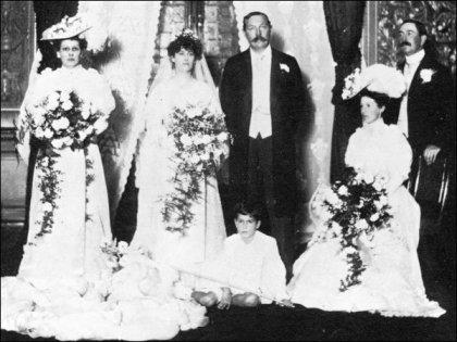 sir-arthur-conan-doyle-ve-jean-leckie-evlilik-gunu-1907