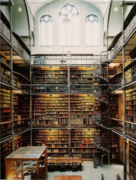 Rijks-Muzesi-Arastirma-Kutuphanesi-Amsterdam-Hollanda
