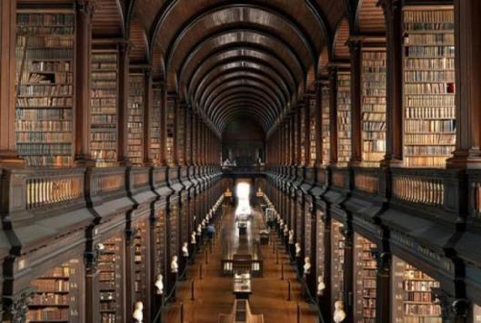 Trinity-universitesi-Kutuphanesi-Dublin-İrlanda