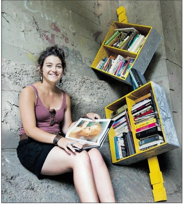 Guerrilla-librarie-kuzey-amerika-sokak-kutuphanesi