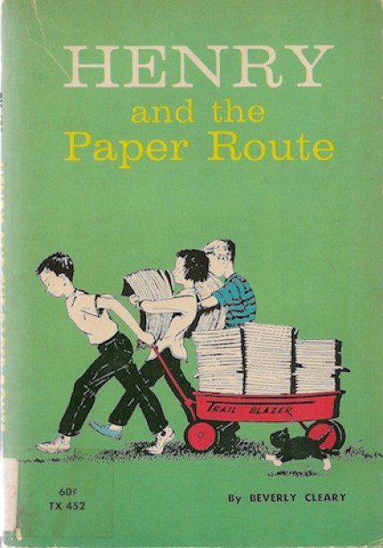 henry-and-the-paper-route-beverly-cleary