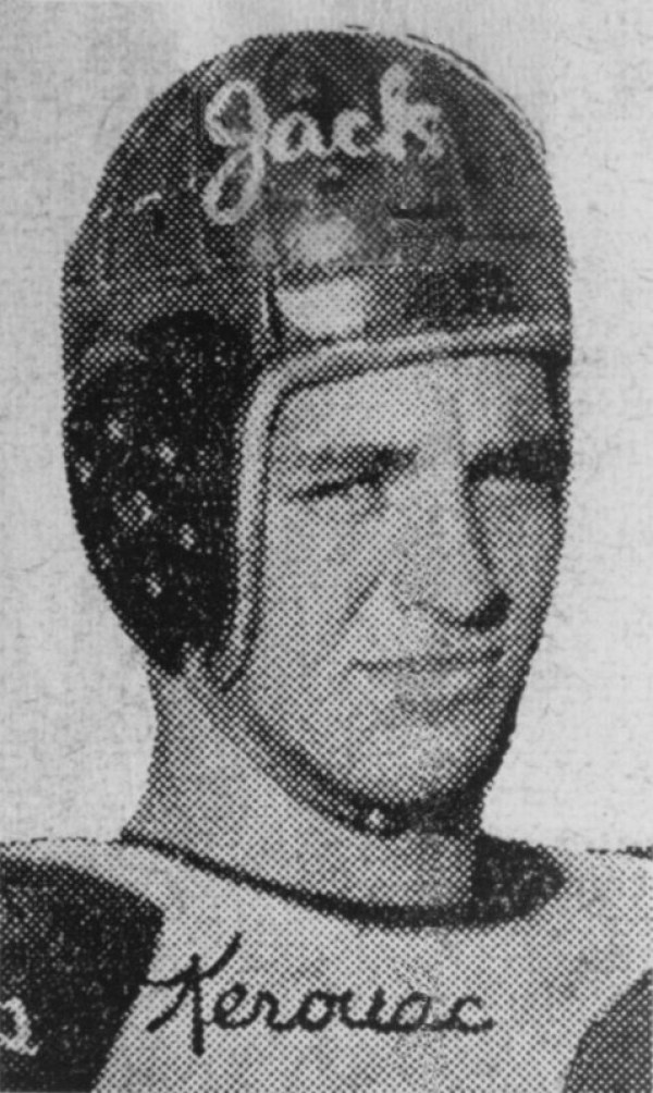 american-football-Jack-Kerouac-Lowell-Lawrence-football-game-1938-helmet