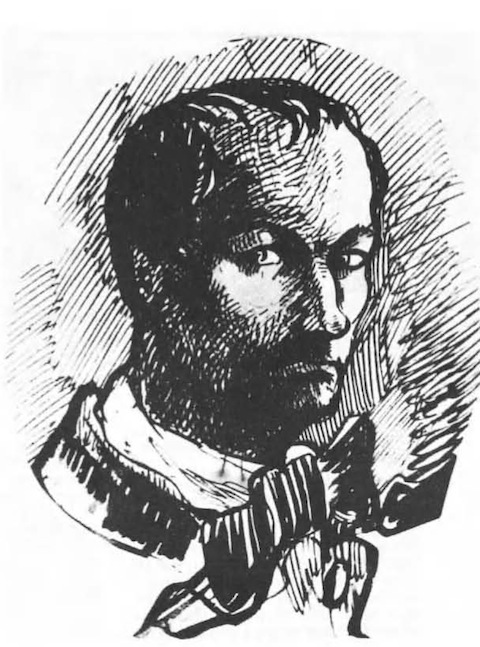 Charles-Baudelaire-1860-selfportrait