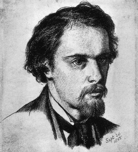 Dante-Gabriel-Rossetti-Self-Portrait-1855