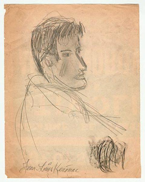 Jack-Kerouac_Self-portrait