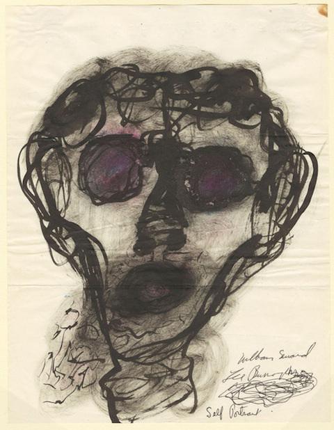 William-S-Burroughs-1959-selfportrait