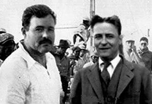 Ernest Hemingway ve F. Scott Fitzgerald - Paris (1925)