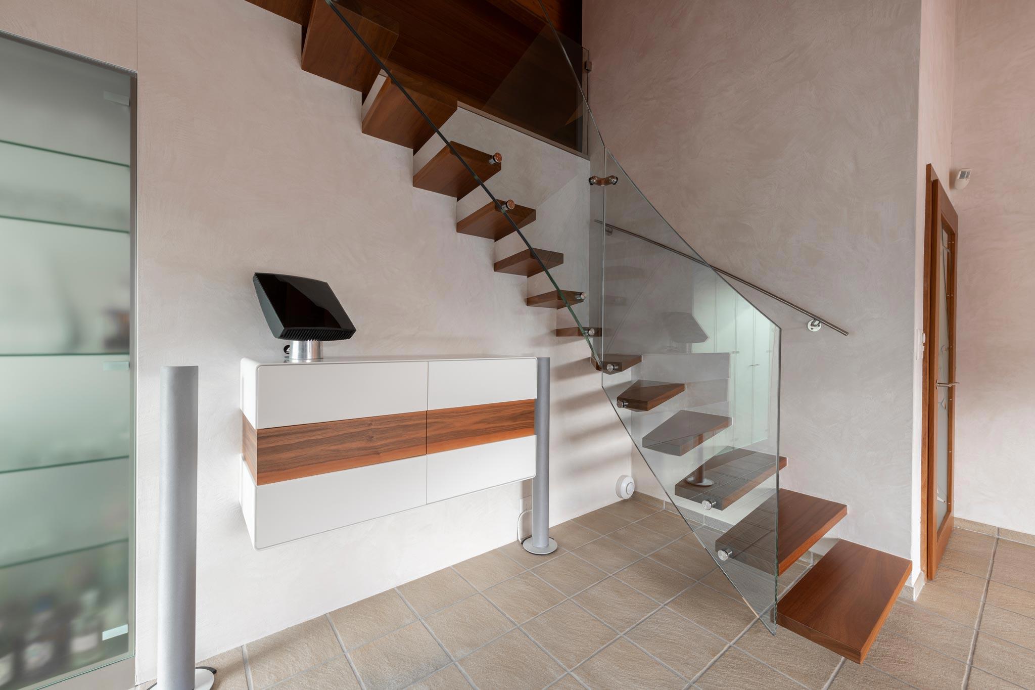 ES Bru 5381 escalier hor 20 05 007 - Escalier autoportant à Sierre (Bb)