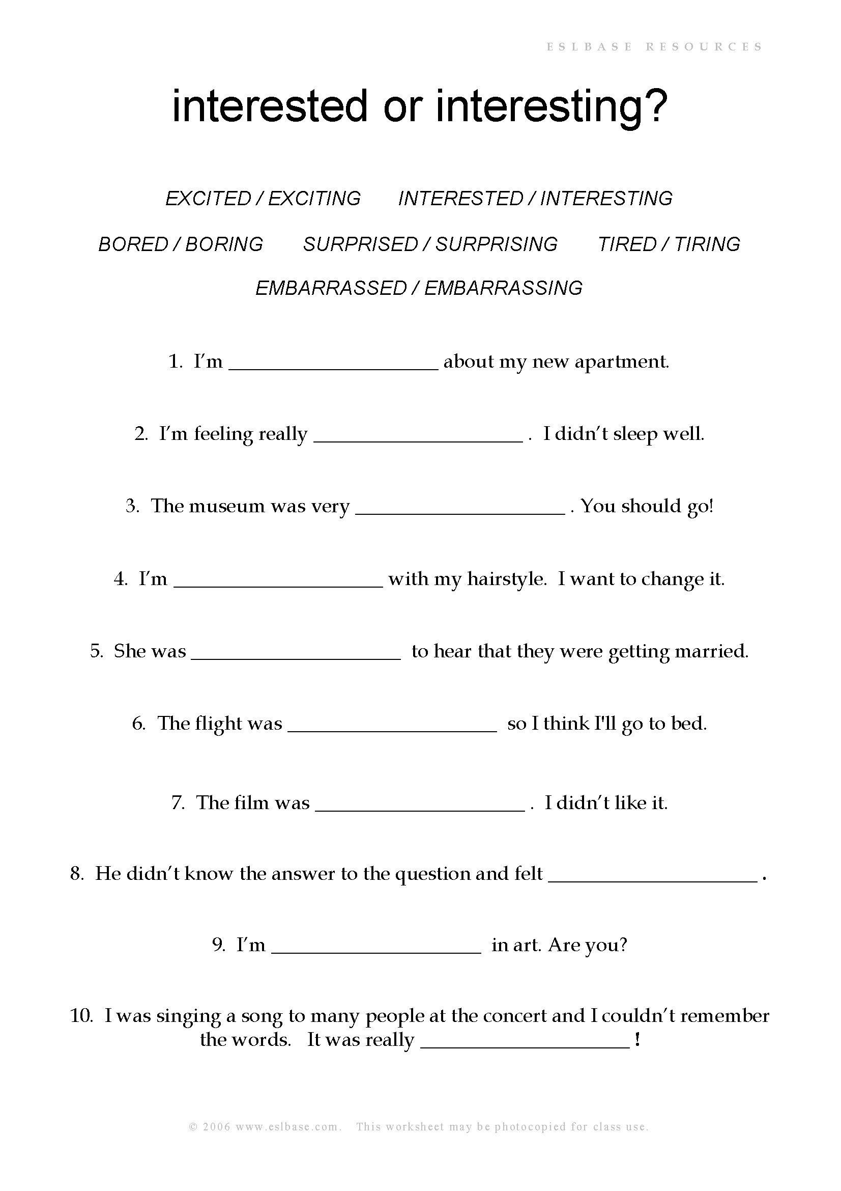 Ing Verb Worksheet For Grade 2
