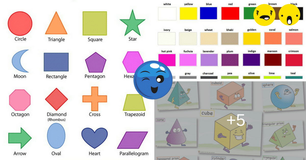 learn vocabulary through pictures shapes and
