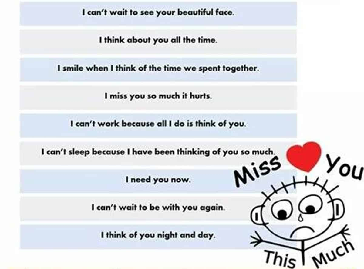40+ Cool Ways to Say I MISS YOU in English 15