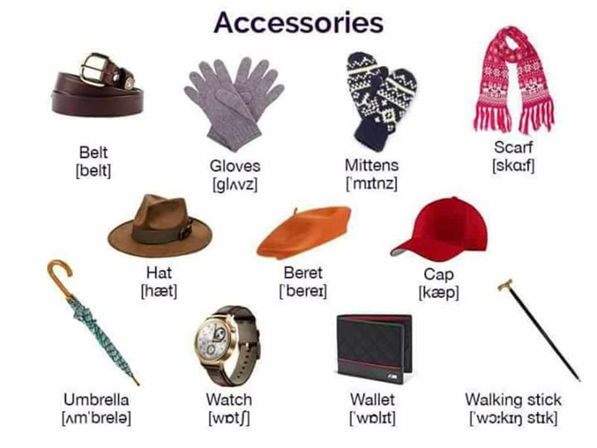 Clothes and fashion vocabulary