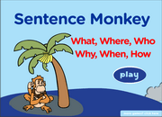 question-words-monkey