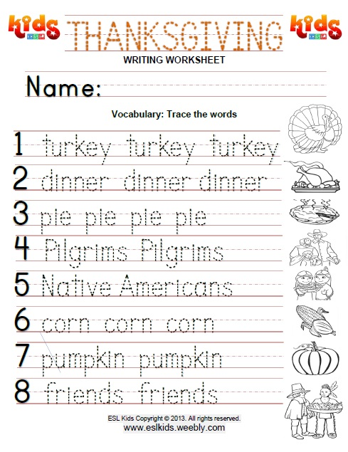 Thanksgiving Activities Games And Worksheets For Kids