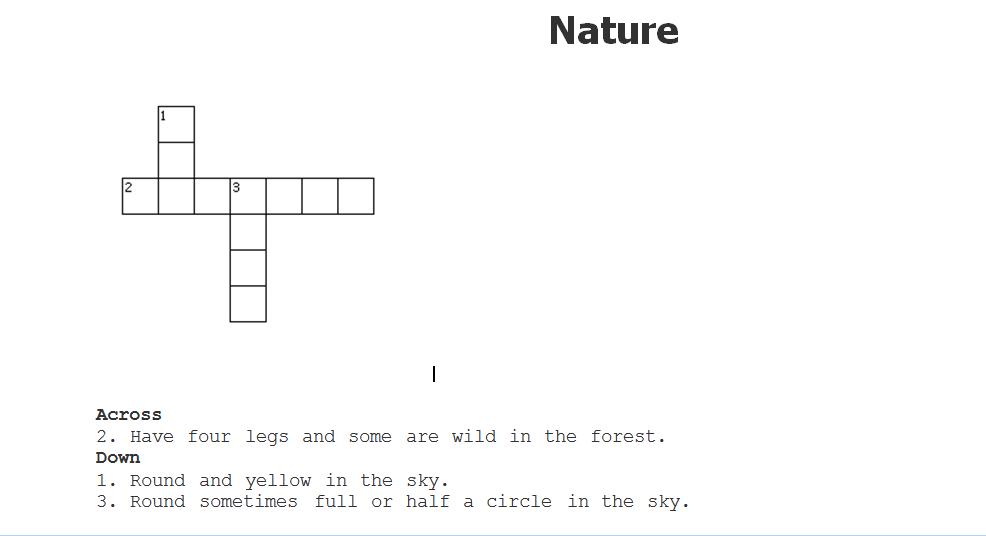 Crosswords Crossword Interactive Puzzles Online Printable Free