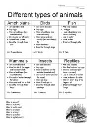 Animals And Biomes