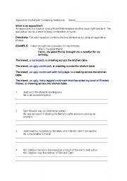 English Worksheets Appositives Combining Sentences