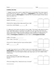 Genetics Worksheets