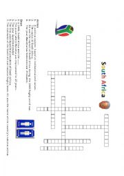 South Africa Crossword