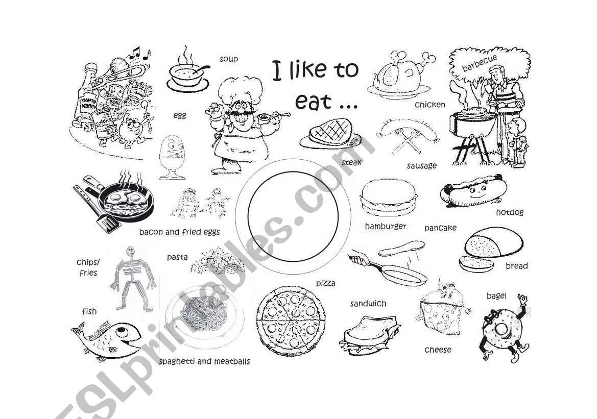 I Like To Eat