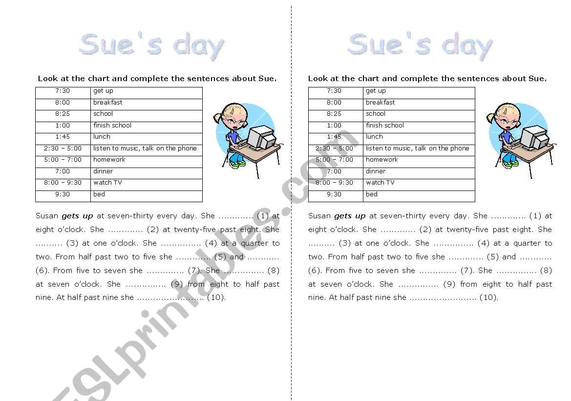 Sue S Day
