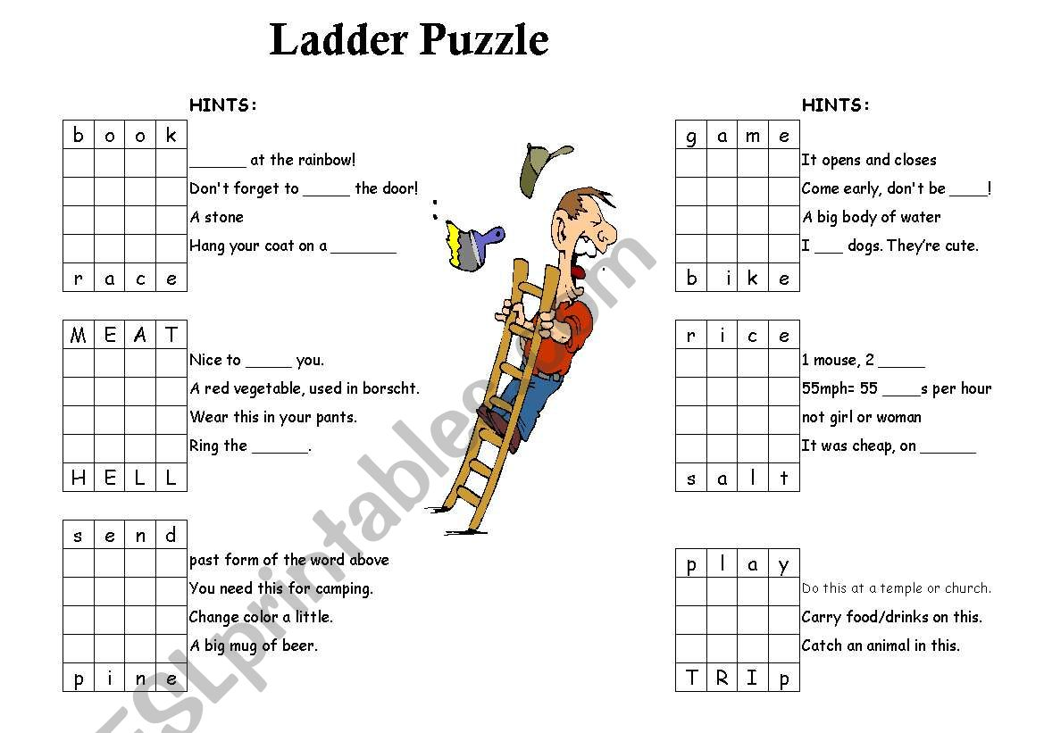 Ladder Puzzle