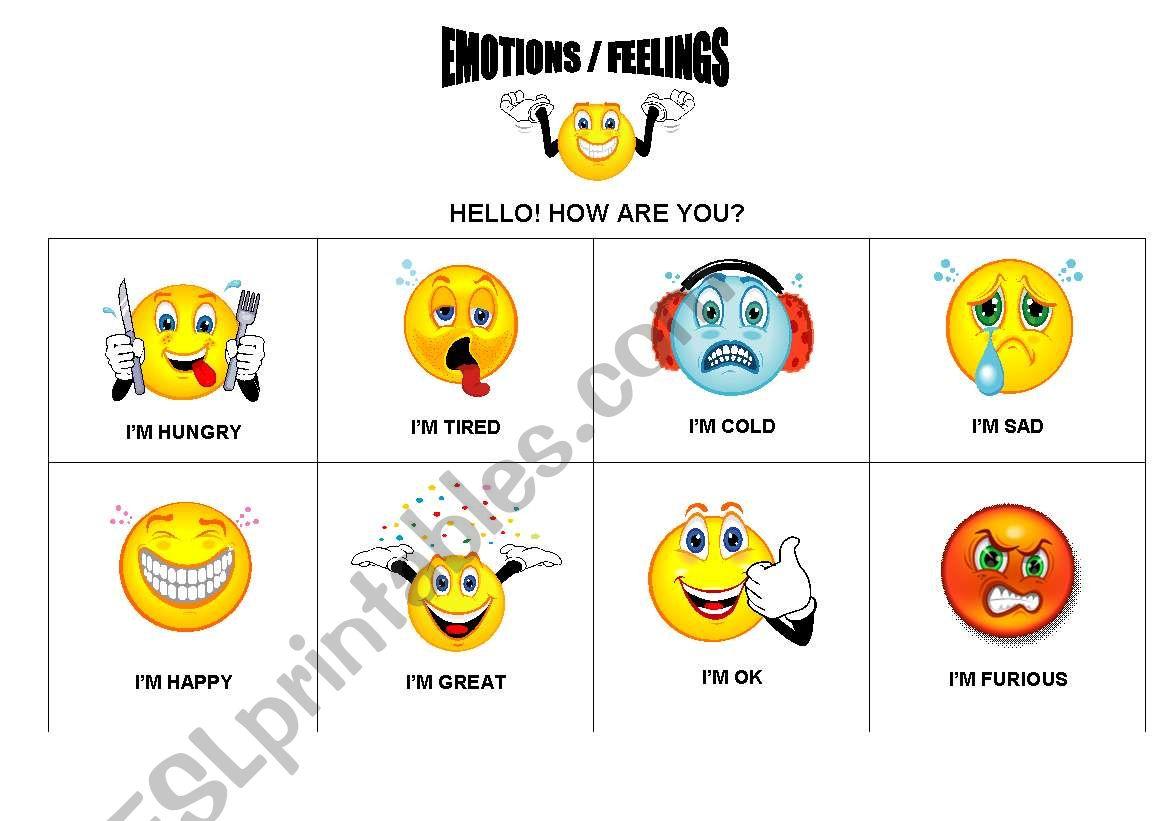 Emotions Feelings
