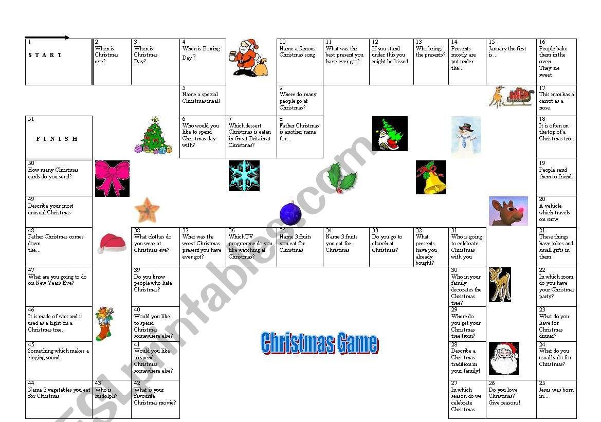 Boardgame Christmas