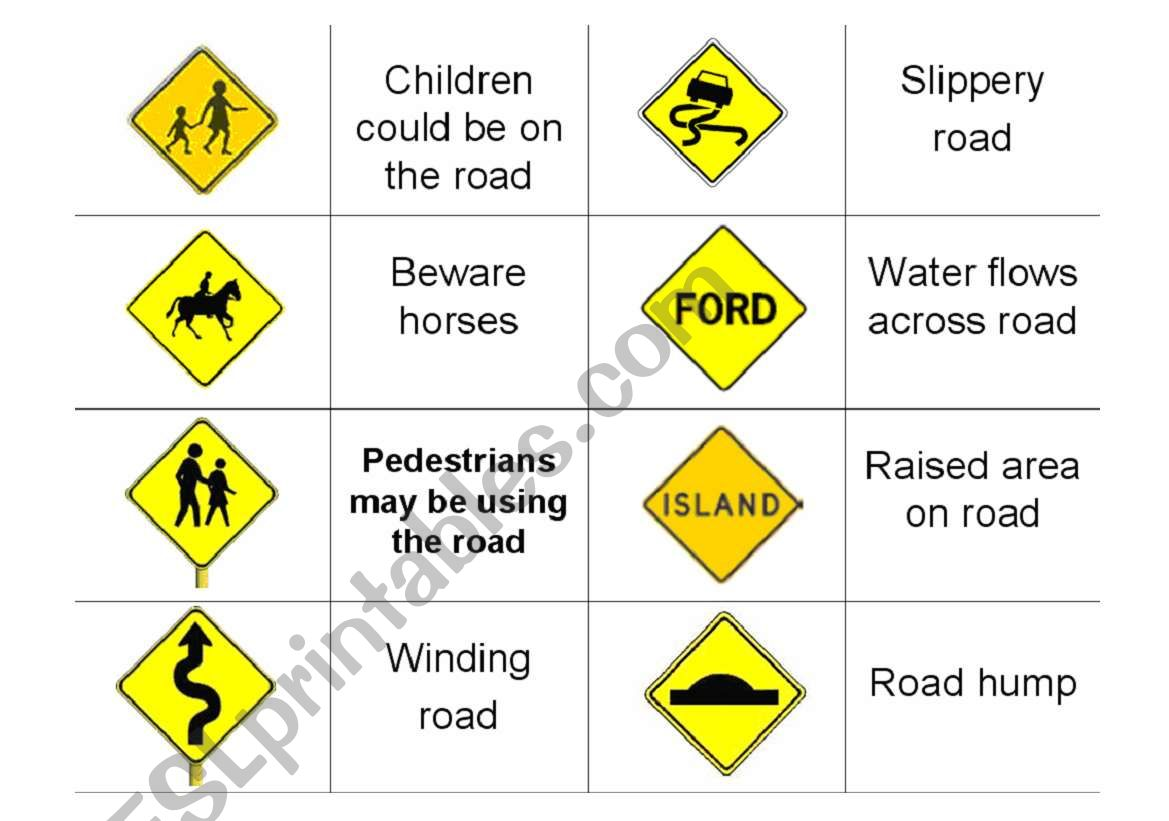 Driving Road Signs Part Six
