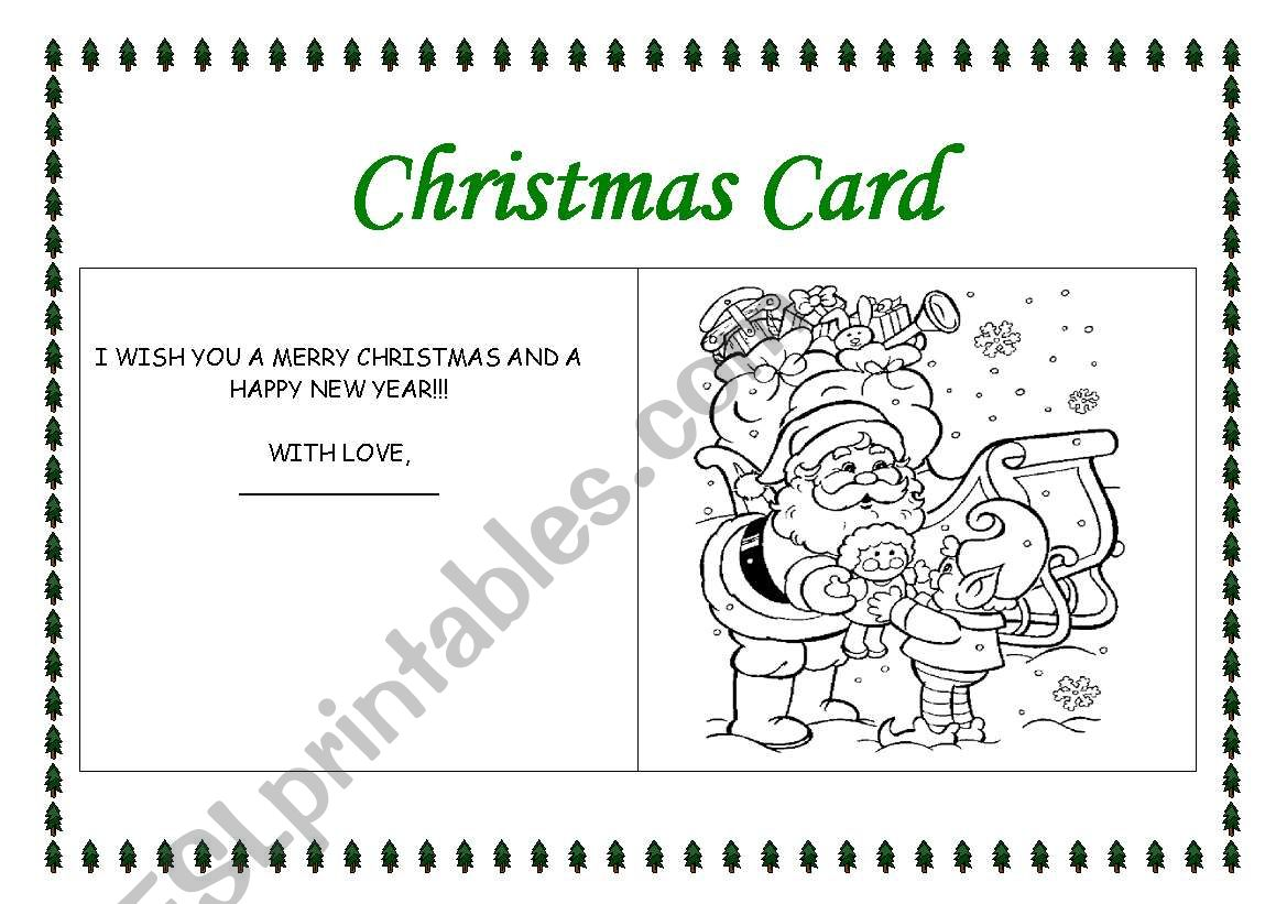 Making A Christmas Card 2