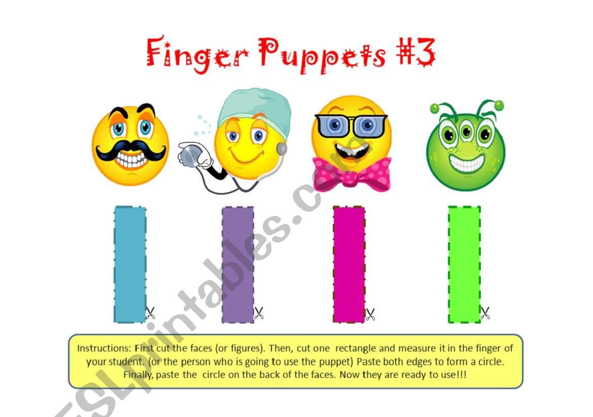 Finger Puppets 3