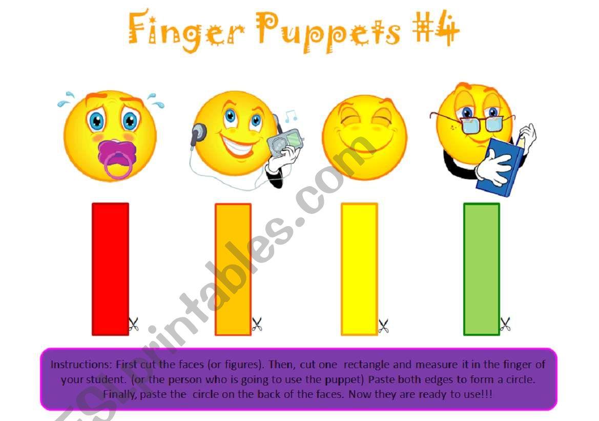 Finger Puppets 4