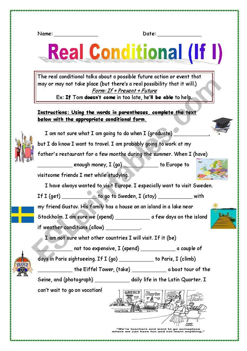 Real Conditional