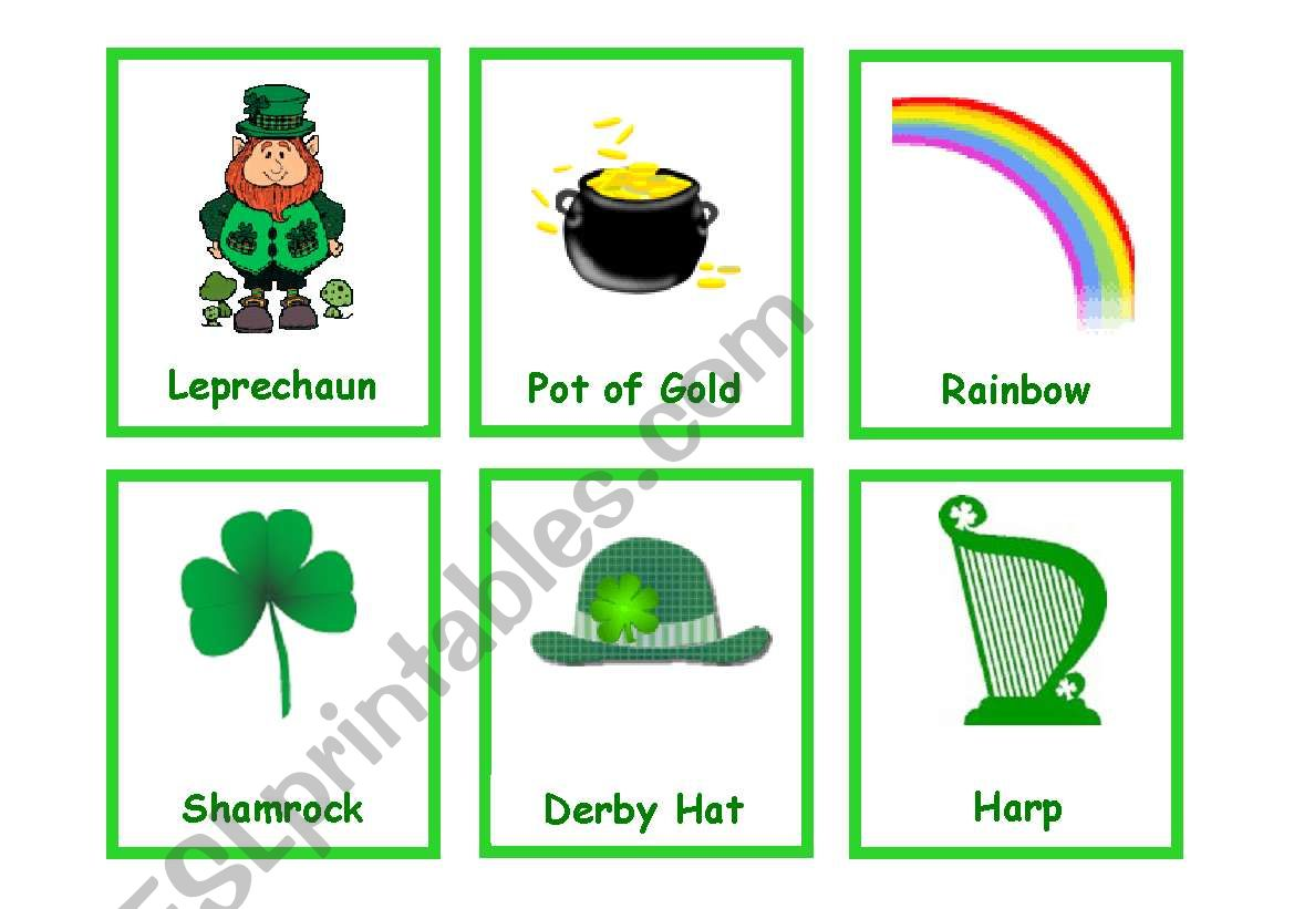 St Patrick S Day Flashcards