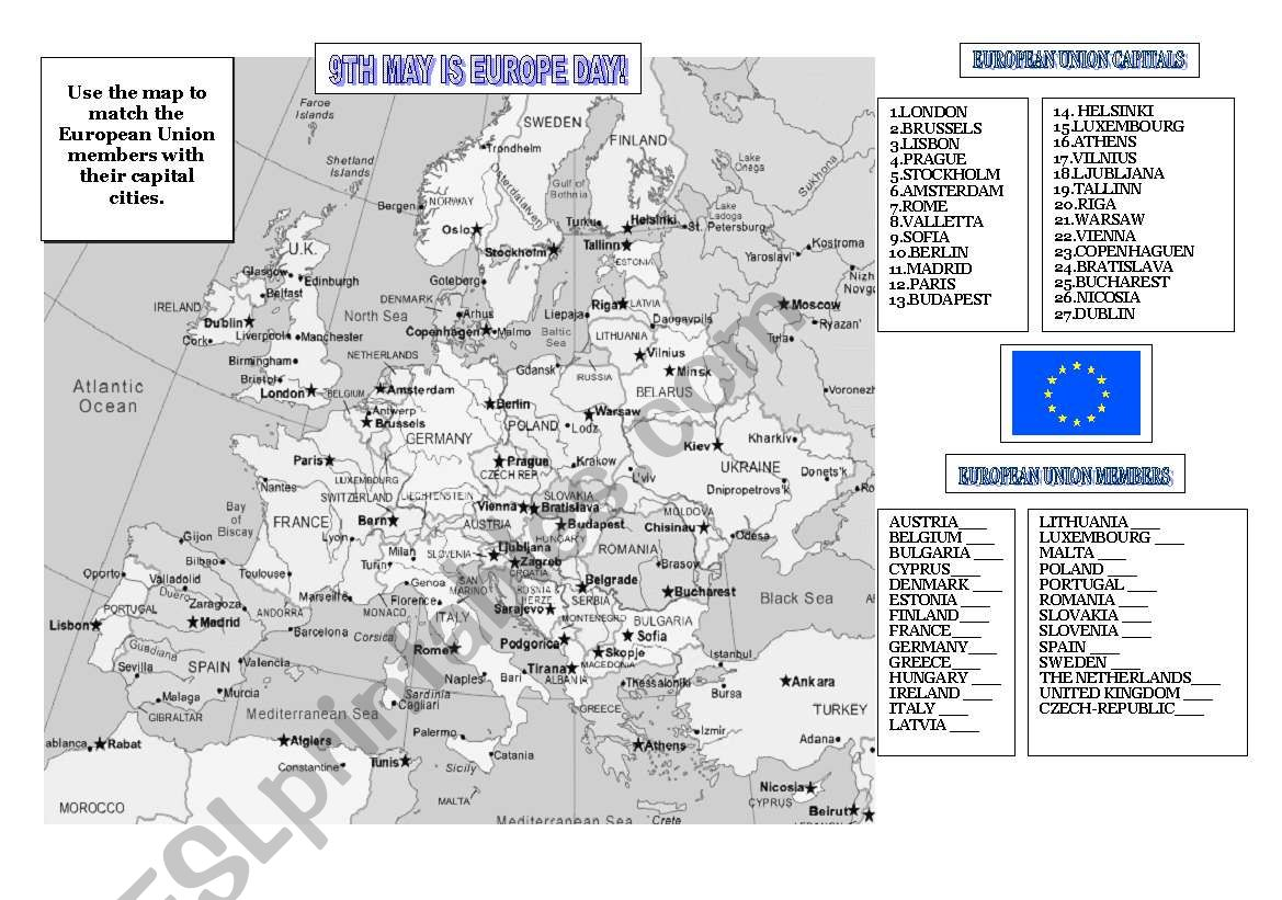 9th May Is Europe Day