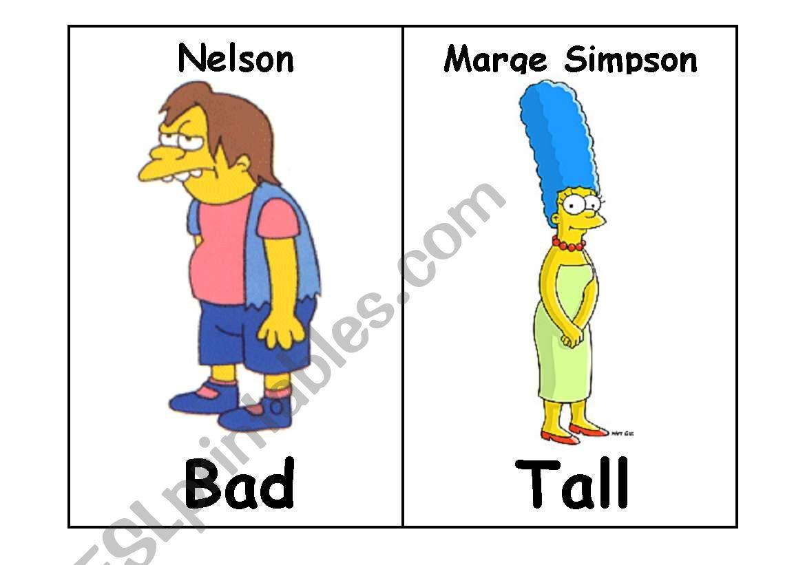 Simpson Adjectives Ii
