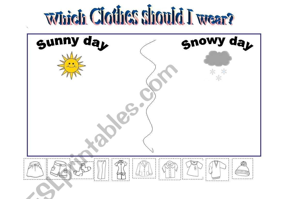 Which Clothes Should I Wear