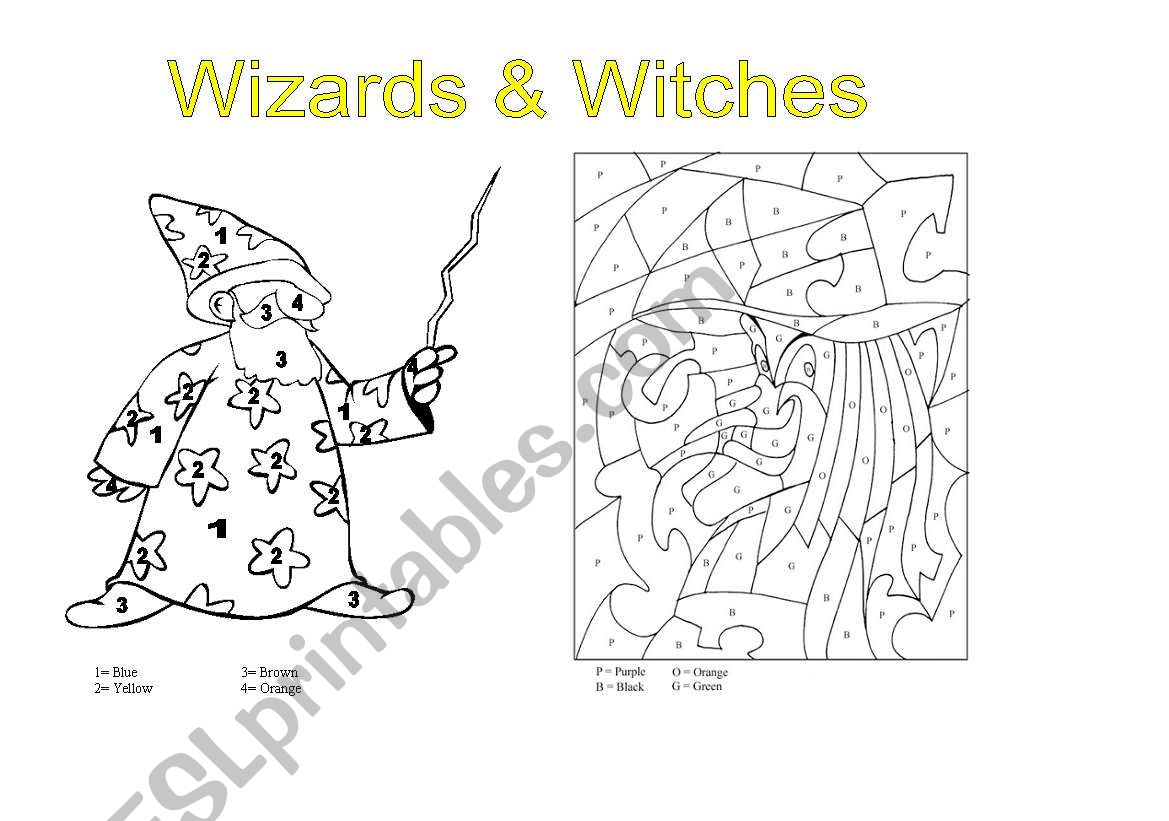 Wizards Amp Witches Color Code