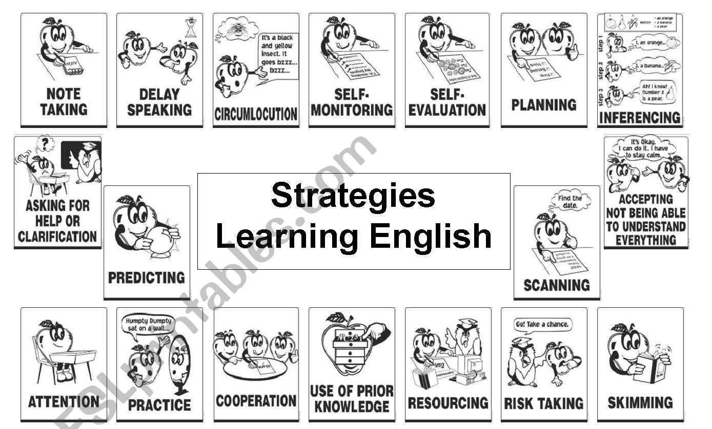 Strategies To Use When Learning English