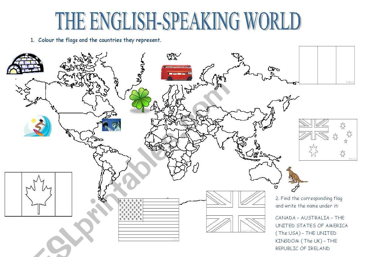 The English Speaking Countries