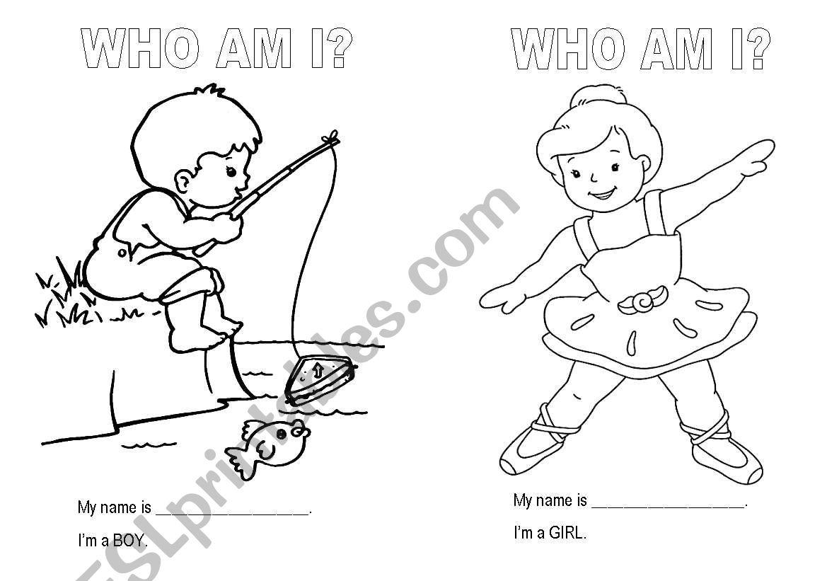 I M A Boy I M A Girl