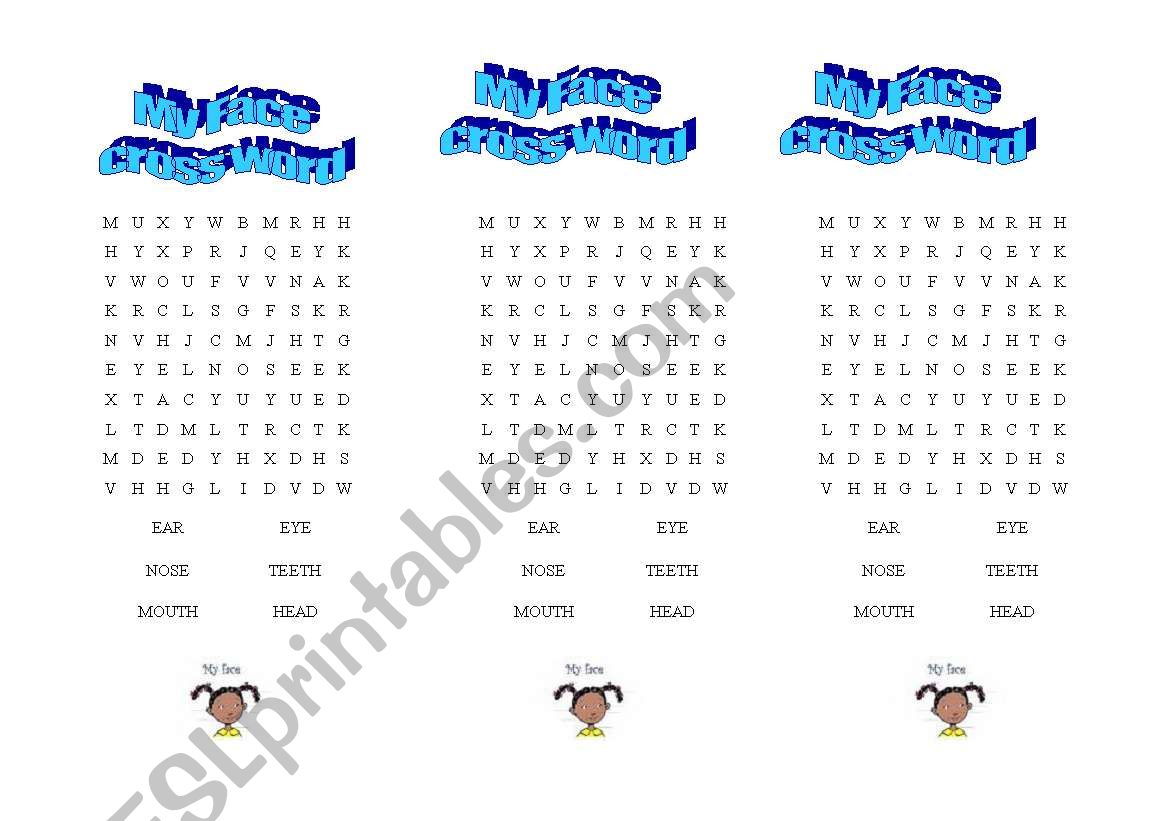 English Worksheets Wordsearch