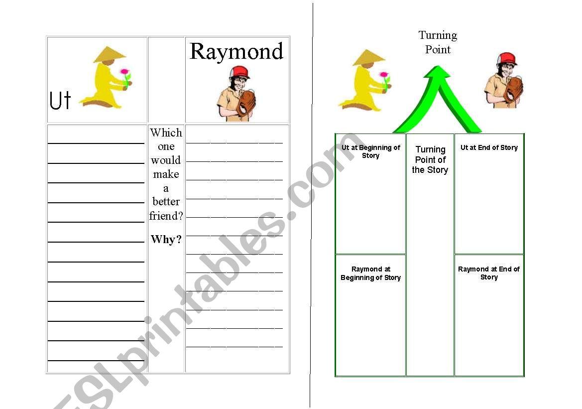 English Worksheets Angel Child Dragon Child
